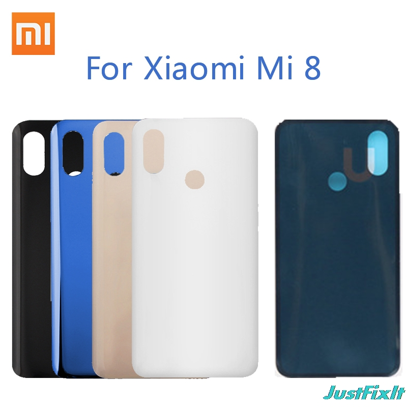 Original <font><b>Battery</b></font> <font><b>Cover</b></font> For <font><b>Xiaomi</b></font> <font><b>Mi</b></font> <font><b>8</b></font> Back glass <font><b>Cover</b></font> Back Door Replacement For mi8 <font><b>Battery</b></font> <font><b>Cover</b></font> Case, Rear Housing <font><b>Cover</b></font> image