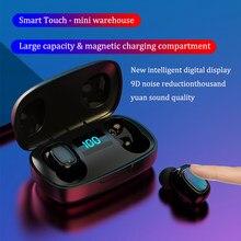 T10S наушники-вкладыши TWS Bluetooth наушники 5,0 беспроводной вкладыши HiFi наушники свяжитесь стерео Power цифровой дисплей для Huawei Iphone