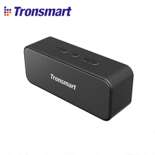 Original Tronsmart T2 Plus Bluetooth 5.0 Speaker 20W Portable Speaker NFC Column IPX7 Soundbar with TWS Voice Assistant Micro SD