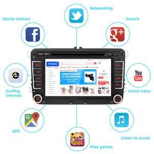 Image 2 - Bosion 2G + 32G 2Din Androidรถเครื่องเล่นดีวีดีAux GpsสเตอริโอสำหรับVolkswagen Skoda POLO GOLF 5 6 PASSAT CC TIGUAN TOURAN Fabia Caddy