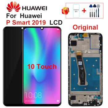 6 21 #8222 dla Huawei P Smart 2019 LCD POT-LX1 L21 ekran dotykowy Digitizer zgromadzenie części naprawa dla P Smart 2019 LCD 10 dotykowy tanie i dobre opinie Pojemnościowy ekran 2160*1080 3 For Huawei P Smart 2019 LCD POT-LX1 POT-LX1AF POT-LX2J LCD i ekran dotykowy Digitizer