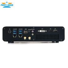 Jogos mini computador intel i7-7820HQ gtx 1650 gddr5 4gb 2 * ddr4 m.2 nvme 2lan computador de mesa win10 4k hdmi2.0 dp dvi fibra óptica wi-fi