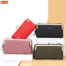 High Quality PU Leather Phone Bag for iPhone 11 for Samsung Galaxy Note 20 S9 S8 Plus HandBag Brand Ladies Travel Crossbody Bag