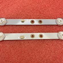 Conjunto de tira de LED para iluminación trasera para PANASONIC, conjunto de 2 unidades para PANASONIC TX 32FR250K 2T C32ACSA K320WDX A1 A2 4708 K320WD A2113N01 A1113N11 tipo A B