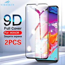 2PCS Full Cover Screen Protector for Huawei Honor 10 Lite Honor 9X Pro 8X 8A 8C 8S Tempered Glass For Honor 20S 10i 7A 7C Pro 2pcs full cover tempered glass for huawei honor 8a pro honor 8a protective glass screen protector for huawei honor 8a pro