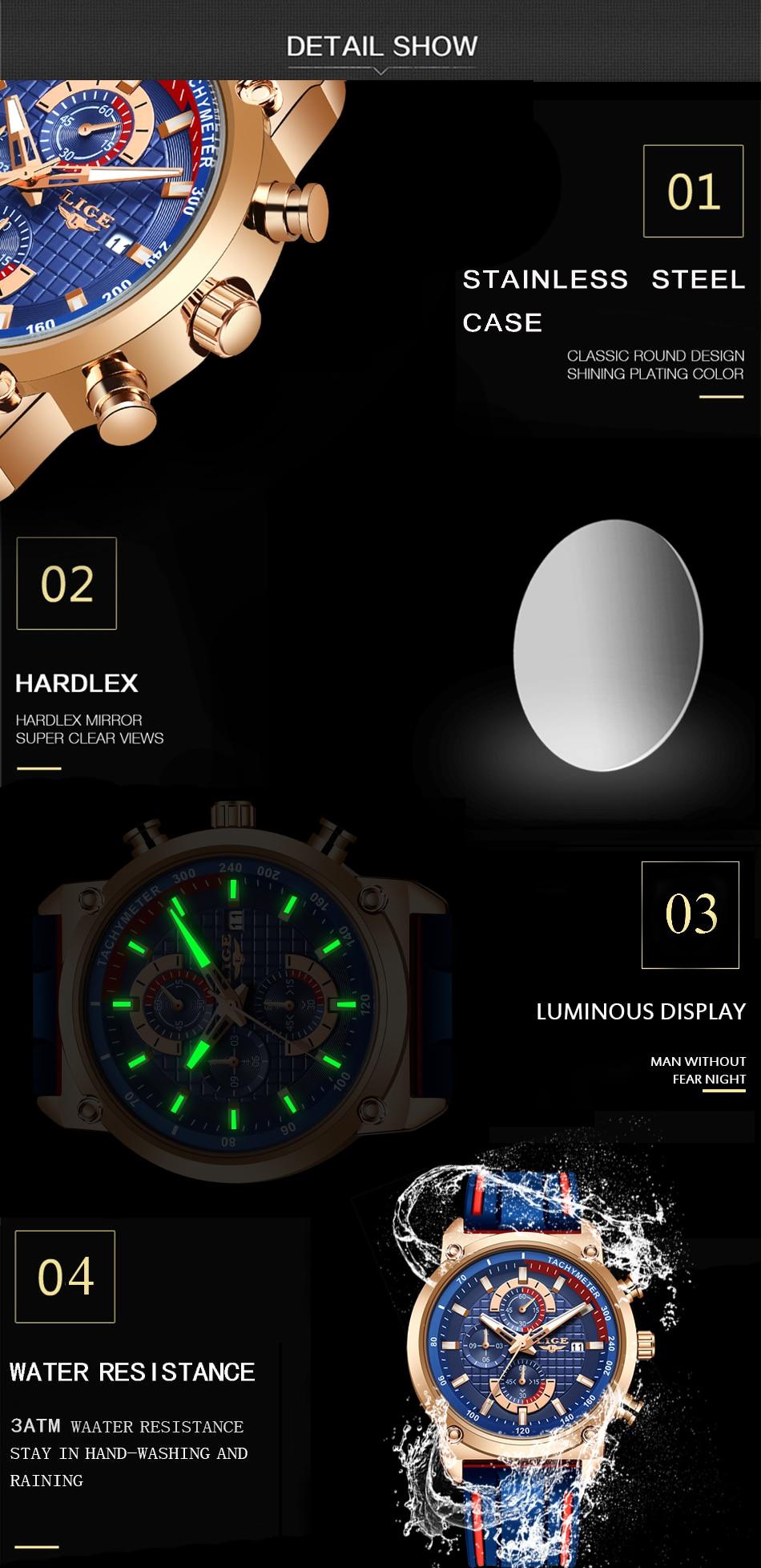Hfe61350a376844439baf1a34c7bad023g New Top Fashion Chronograph Quartz Men Watches LIGE Silicone Strap Date Wristwatch Clock Male Luminous Watch Relogio Masculino