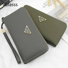 Women's Clutch And Lady Purses Fashion Women Purse New Solid Woman Wallet Womens
