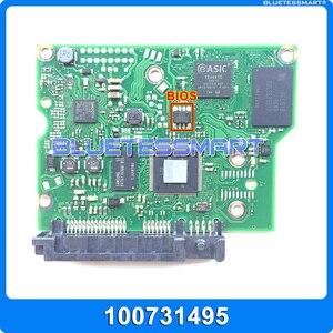 Запчасти для жесткого диска, плата печатной платы 100731495 REV B Для Seagate 3,5 SATA hdd, восстановление данных, ремонт жесткого диска