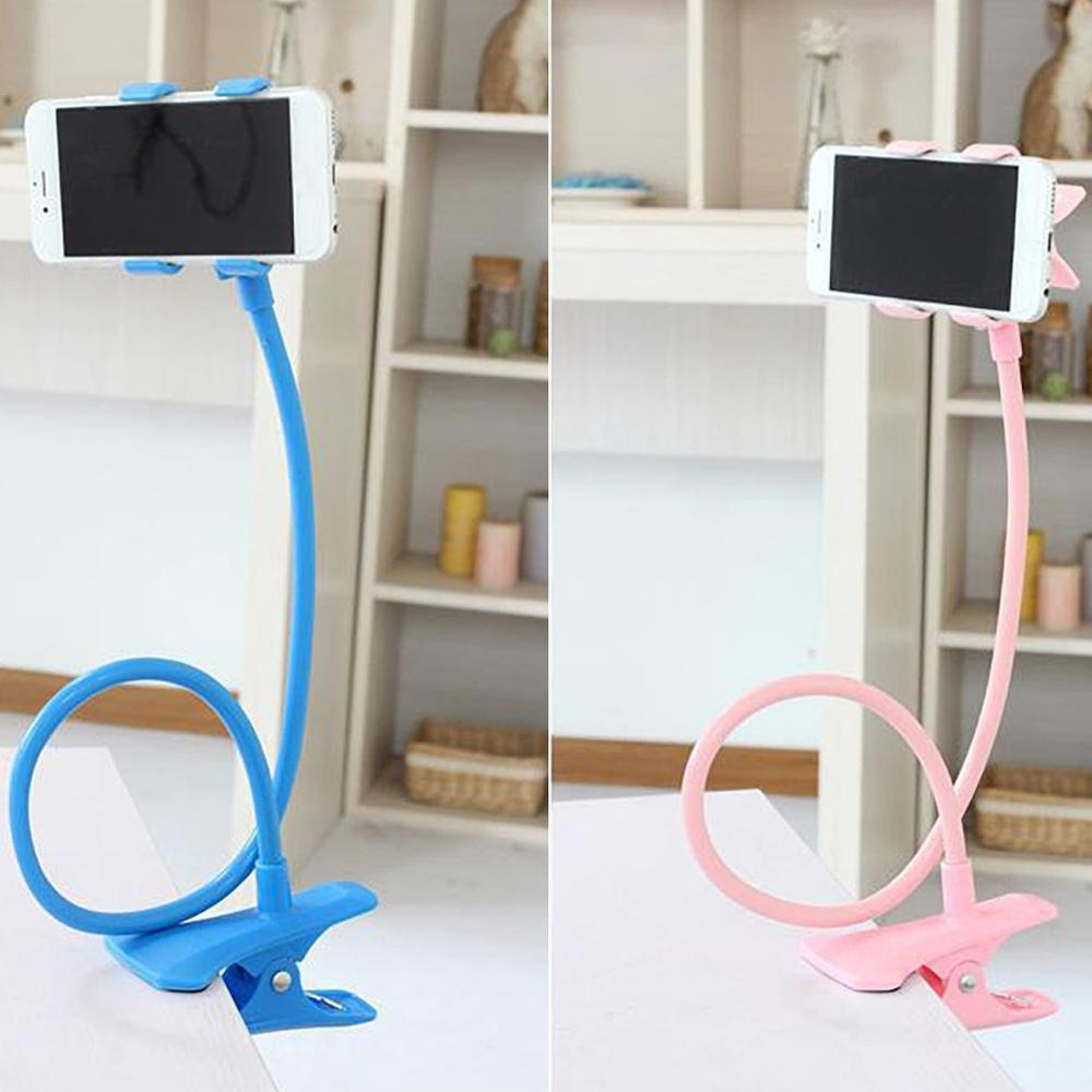 Universal Flexible Holder Arm Lazy Mobile Phone Stand Holder Stents Flexible Bed Desk Table Clip Bracket Holder For Phone