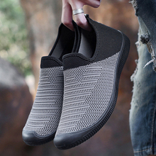 Men's Sneakers Elastic Band Mesh Flat Sports Shoes Hollow Walking Jogging Summer Shoes Soft Breathable Tenis Masculino Adulto sneakers men mesh hollow sports shoes for male fashion walking jogging breathable summer shoes soft tenis masculino adulto