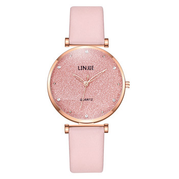 Top Style Women's watch Luxury Leather Fashion Bead Dial Stainless Steel Belt Ladies Quartz Watch Gift Women watch Reloj Mujer top luxury women watch stainless steel elegant big dial ladies clock high quality net belt quartz wristwatch drop shipping reloj