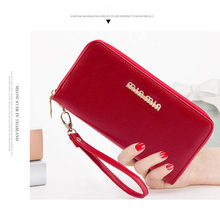 New Fashion Women Wallets Long Style Multi-functional Wallet Litchi Pattern Purse Fresh PU leather Female Clutch Card Holder Top