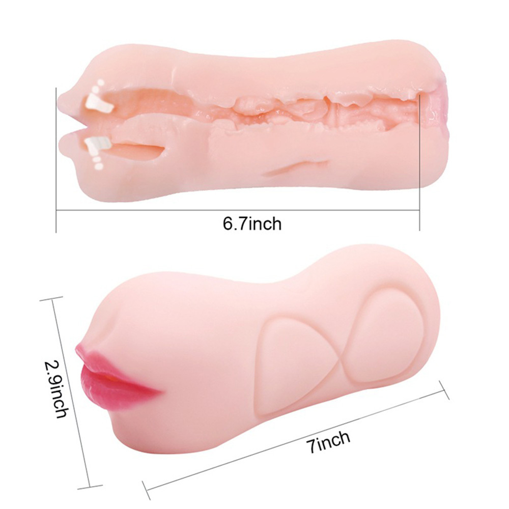 APHRODISIA 3D Realistic Deep Throat Male Masturbator Silicone Sex Toys for Men Artificial Vagina Mouth Anal Erotic Oral Sex Shop in Masturbation Soft Stick from Beauty Health
