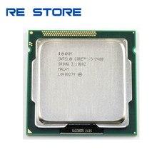 Processador usado intel core i5 2400 quad-core 3.1ghz lga 1155 tdp 95w 6mb cache desktop cpu