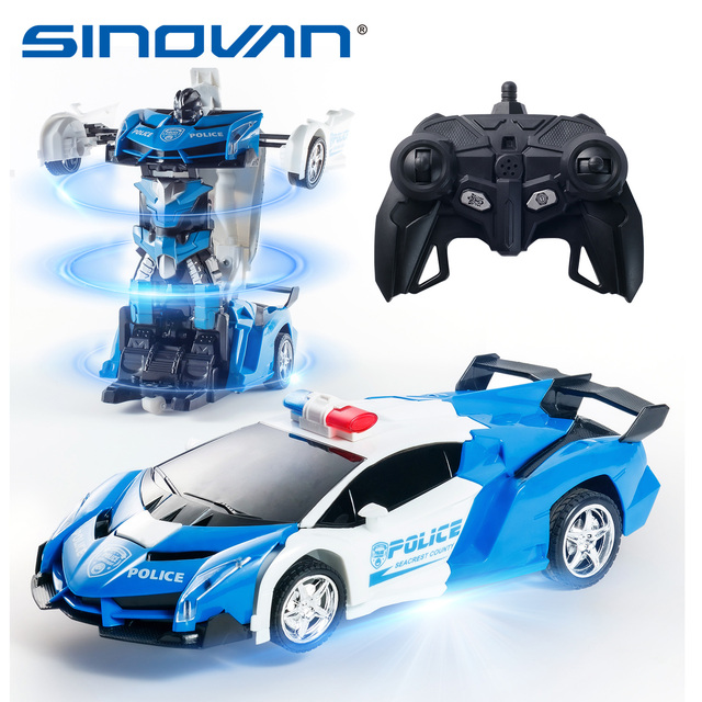 Машинка радиоуправляемая Sinovan Transformer 1