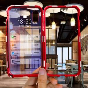 Магнитный металлический чехол для Huawei P30, P20 Lite, Mate 20 Lite, 20X, 5G, 30 Pro, чехол для Huawei Y5, Y6, Y7, Y9 Prime, 2019, P Smart, Z, чехлы|Бамперы|   | АлиЭкспресс