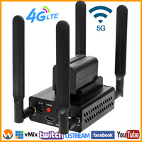 URay 4G LTE 1080P Wireless HDMI To IP Video Encoder H.264 HDMI Streaming Encoder H264 HDMI RTMP UDP Encoder WiFi For Live, IPTV