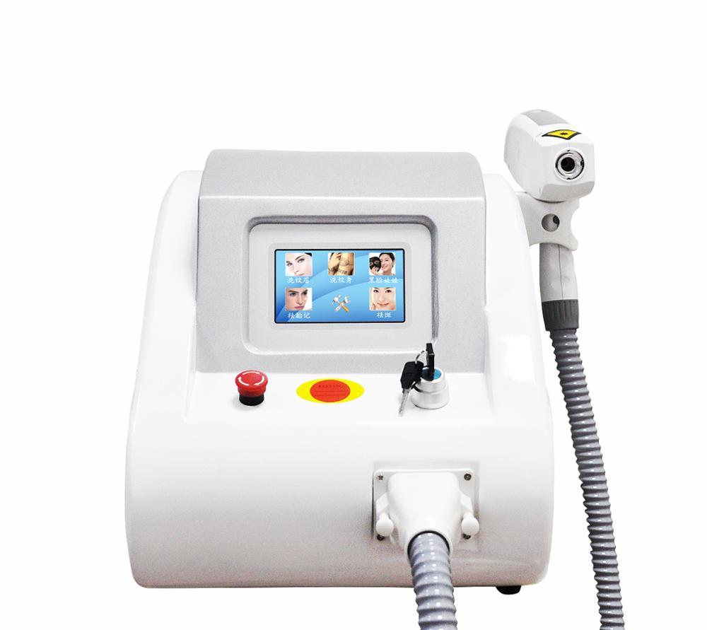 2019 HOT Sale Q Switched ND YAG Laser / 532 &1064 &1320nm Yag Laser Tattoo Removal Machine Price / Carbon Laser Peel Machine