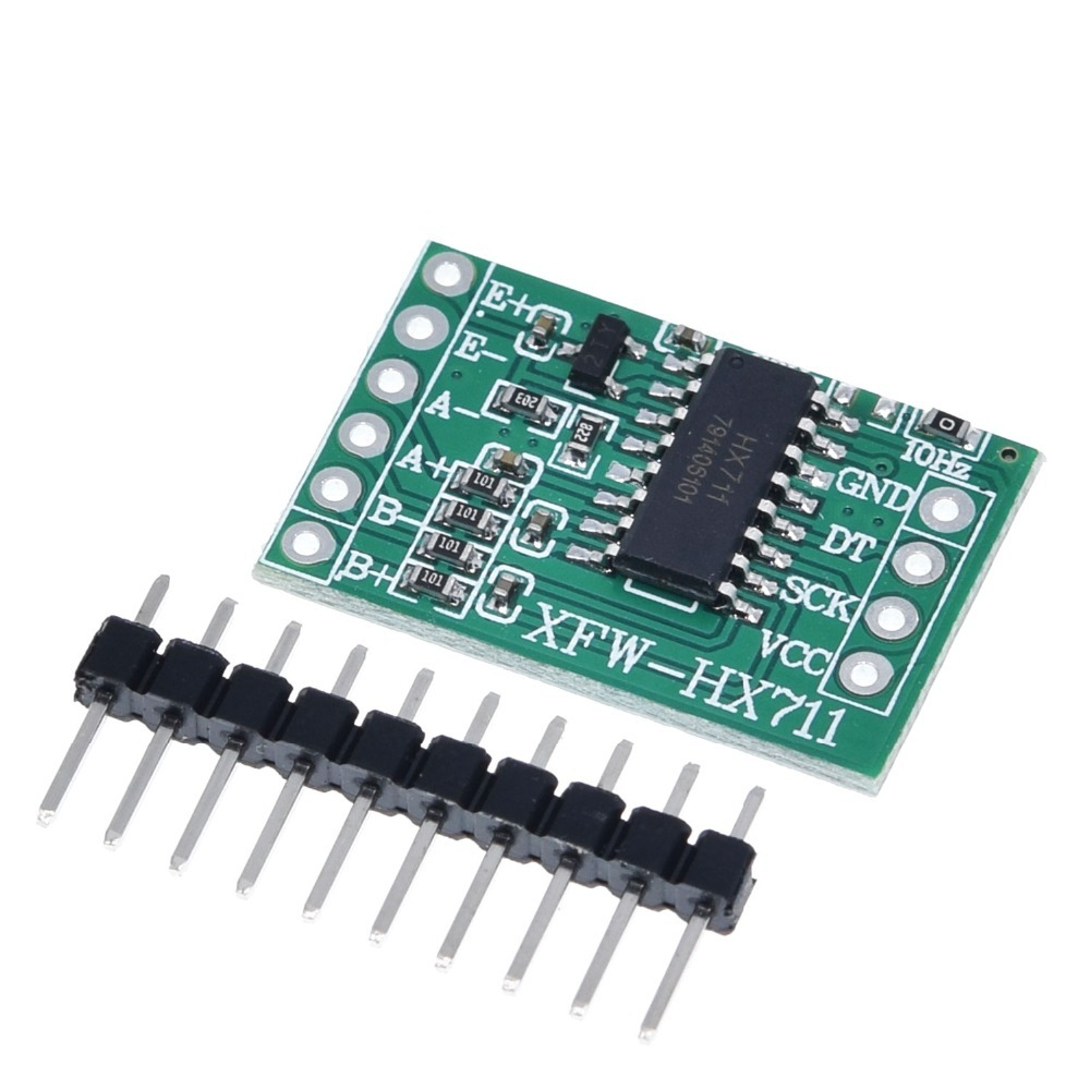 TZT For Arduino Dual Channel HX711 Weighing Pressure Sensor 24-bit  Precision A/D Module DIY Electronic Scale