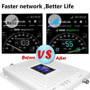 Image 5 - Усилитель сотового сигнала Lintratek, 2G 3G 4G GSM трехполосный 900 DCS 1800 WCDMA 2100