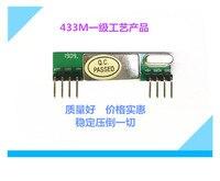 RXB9 Wireless RF Superheterodyne Receiver Module RXB8 Anti-jamming Remote Control Garage Door RXB6