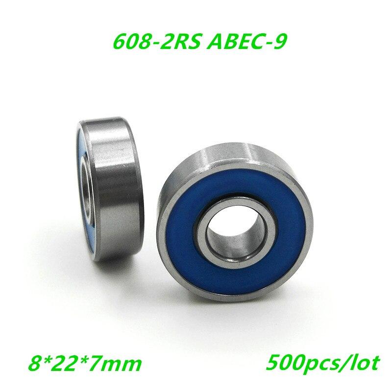 en plastique et nylon 3/x 13,5/x 4,4/mm Lot de 8/galets de guidage /à roulement /à bille