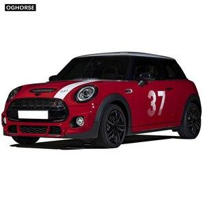 Image 4 - car styling Door Side Hood Bonnet Stripes Vinyl Decal Stickers for mini cooper R50 R52 R53 R55 R56 R57 R60 R61 F54 F55 F56 F60