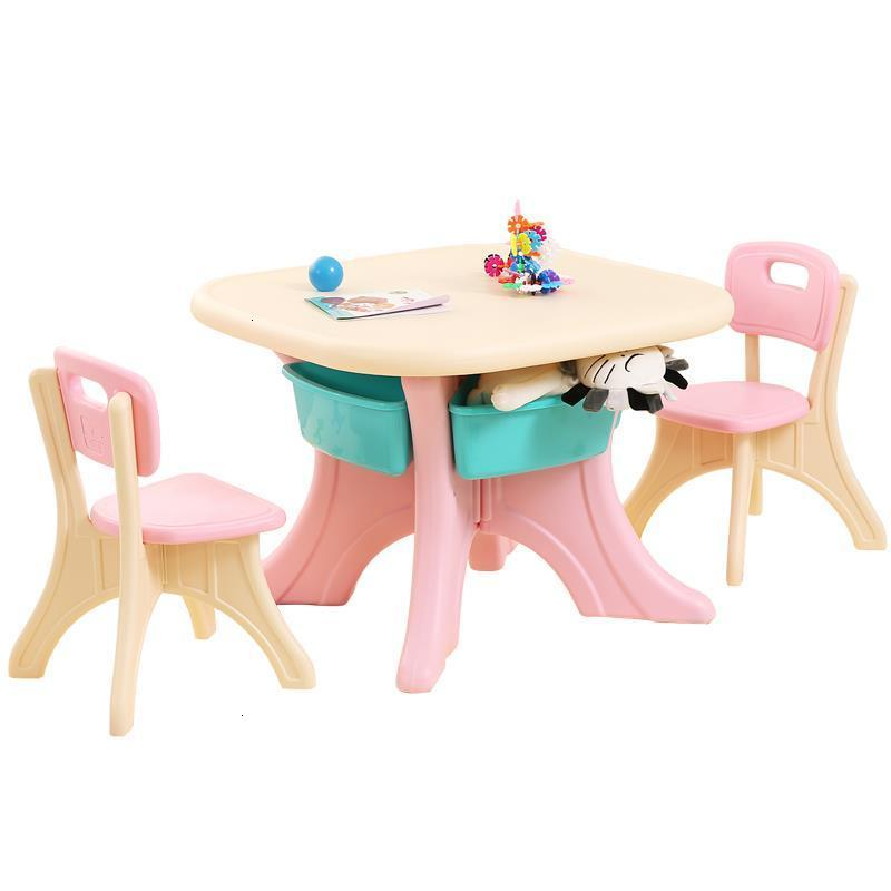 Toddler Play Pupitre De Estudio And Chair Tavolo Bambini Kindergarten Study Table Mesa Infantil Kinder Bureau Enfant Kids Desk
