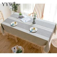 цена на Cotton Tablecloth Table Cover Dustproof Washable Table Cloth Rectangular Tablecloths In Fabric Table Cloth For Home Manteles