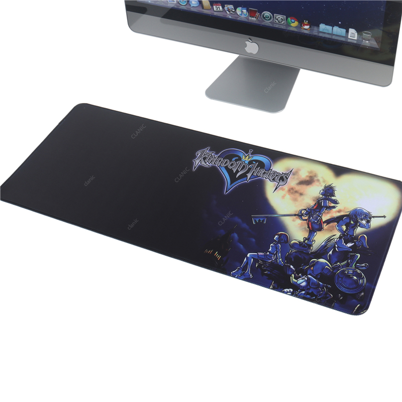 KINGDOM HEARTS Large Gaming Mouse Pad Kingdom Hearts Anime Xl Xxl 900x400 2mm Mousepad Game Gamer Computer Accessories