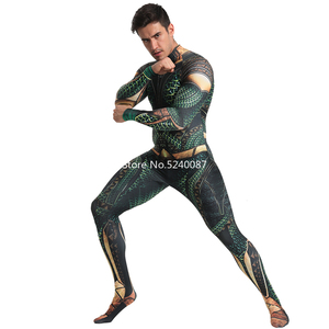 Image 4 - Halloween Men Cosplay Costume Zentai Bodysuit Jumpsuit Carnival Muscle Outfits