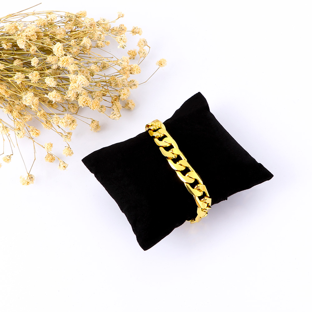 5 Pieces Of Simple Black Velvet Watch Bracelets And Other Jewelry Display Pillow-Shaped Cushion Storage Bag Showcase Decoration