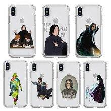 Snape aways tpu caso de telefone macio para iphone 12 xr x xs 11 pro max harris draco malfoy caso para iphone 7 mais 8 mais se 2020