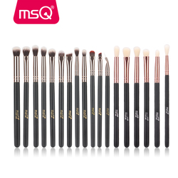 MSQ 6pcs 12pcs 18pcs Professional Eye Makeup Brushes Set Eyeshadow Blending Make Up Brush Soft Synthetic Hair pincel maquiagem