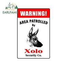 Xolo 방수 만화 RV 데칼 애니메이션 오토바이 자동차 스티커 스크래치 방지 장식에 의해 Patrolled 13cm x 8.5cm