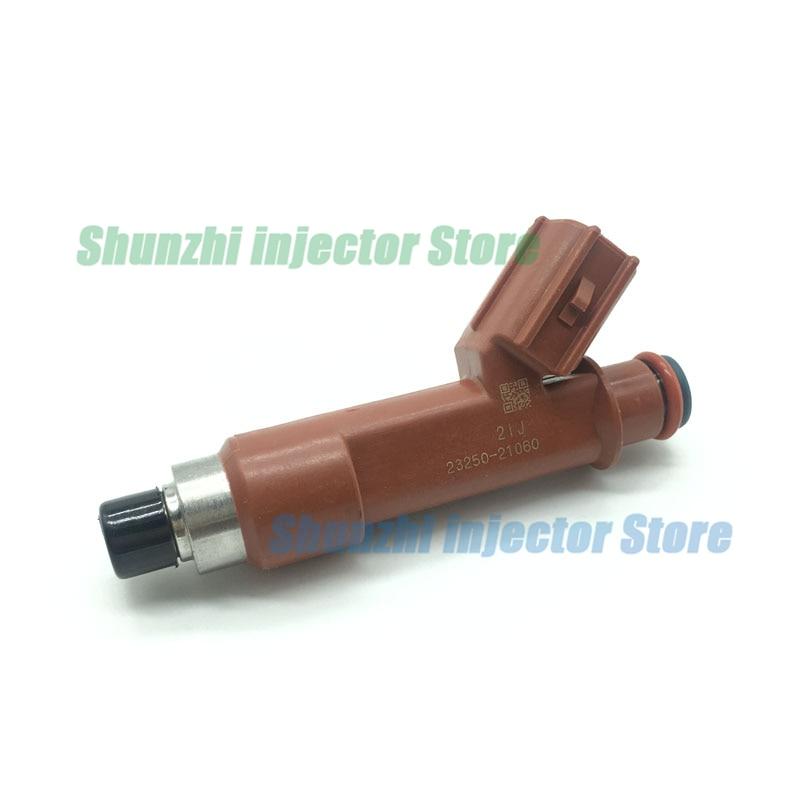 4PCS Fuel Injector 23250-21060 23209-21060 For Yaris NCP90 NCP92 2NZFE 1.3L L4
