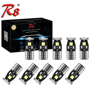 10x T10 LED W5W LED samochód DRL 3030 3SMD 194 168 pozycja światła czytanie lampa pokojowa Canbus 12V 6500k biały żółty polaryzacja darmo tanie i dobre opinie CN (pochodzenie) Klirens lights 120lm T10 (W5W 194) 12 v WHITE 0 003 Honda ACCORD 2010 2012 2011 2014 2015 2013 T10-3030-3SMD