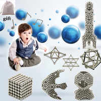 magnetic building blocks magnet toy magnetic rod ball combination design toy adult relief pressure brain training