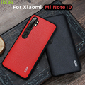 Для Xiaomi mi Note 10 чехол Mofi для Xiao mi Note 10 чехол кожаная задняя крышка бизнес Защитная перчатка для Xiaomi mi Note 10 Чехол