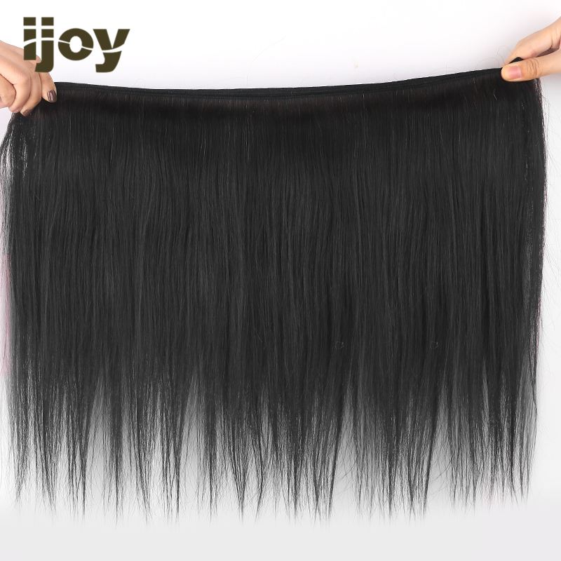 """Natural Color Human Hair Bundles Straight/Body Wave/Kinky Curly 8""""-26"""" Brazilian Hair Weave Bundles Non-Remy Hair Extension IJOY"""