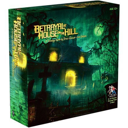 BETRAYAL At HOUSE On The HILL  Expanded Board Game Chess