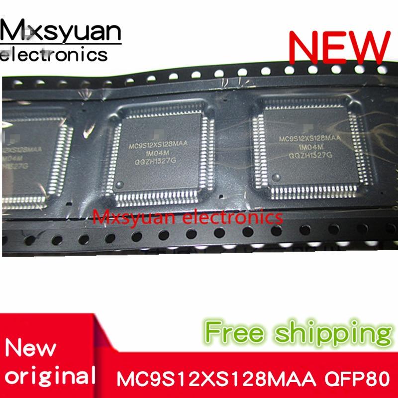 5pcs/lot MC9S12XS128MAA MC9S12XS128 QFP-80 New Microcontroller Chip
