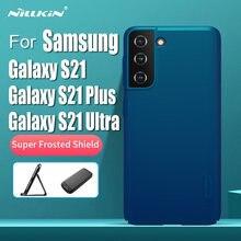 NILLKIN-funda protectora para Samsung Galaxy S21, S21 + Plus, cubierta de protección esmerilada para Samsung Galaxy S21 Ultra 5G