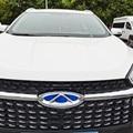 Значок на передний гриль, задний значок, эмблема на багажник автомобиля для Chery Tiggo 8 2018 2019, значок на рулевое колесо, декоративные детали из а...