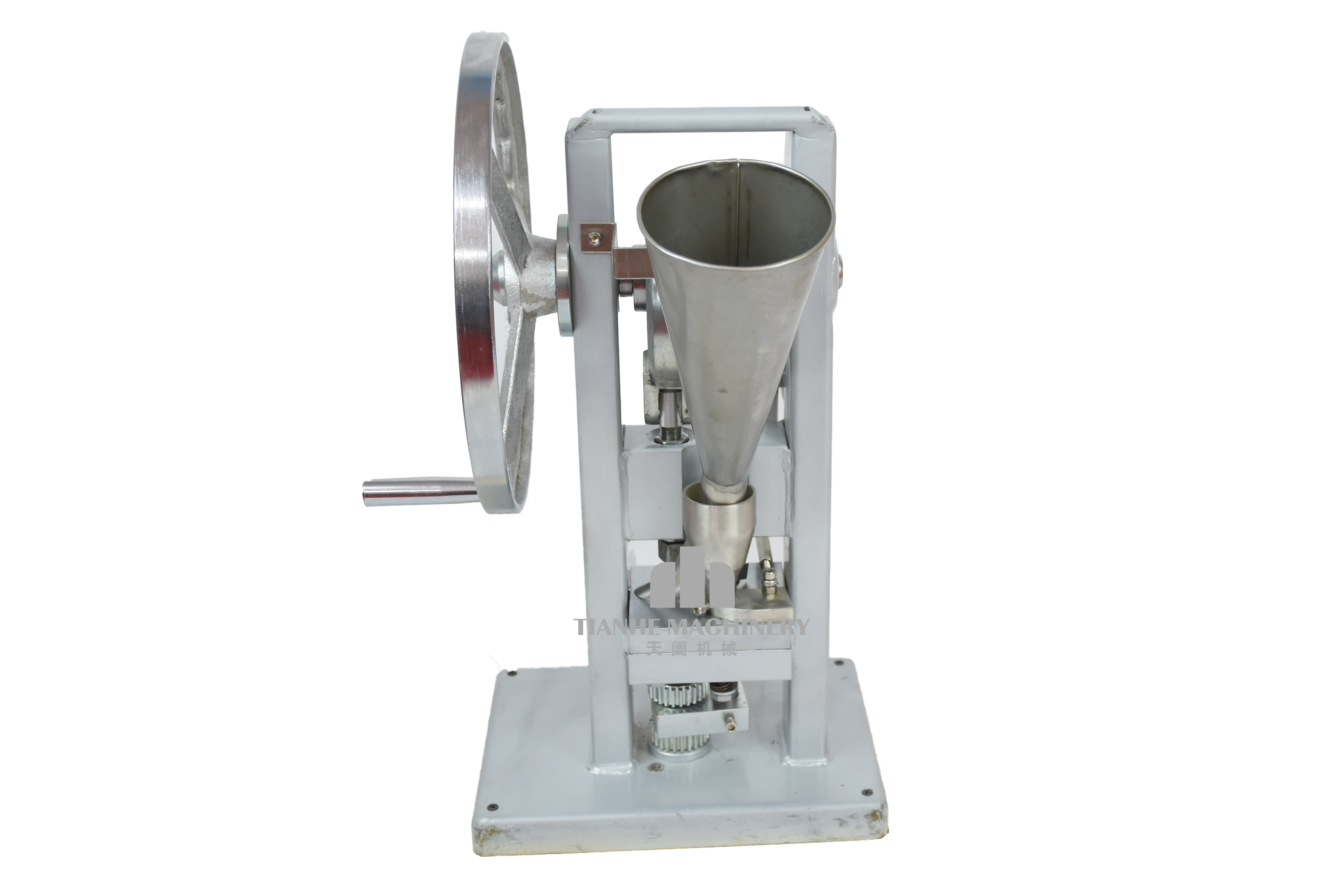 Manual Single punch tablet press machine pill press machine TDP-0 hand operated including hopper pill maker tablet press machine
