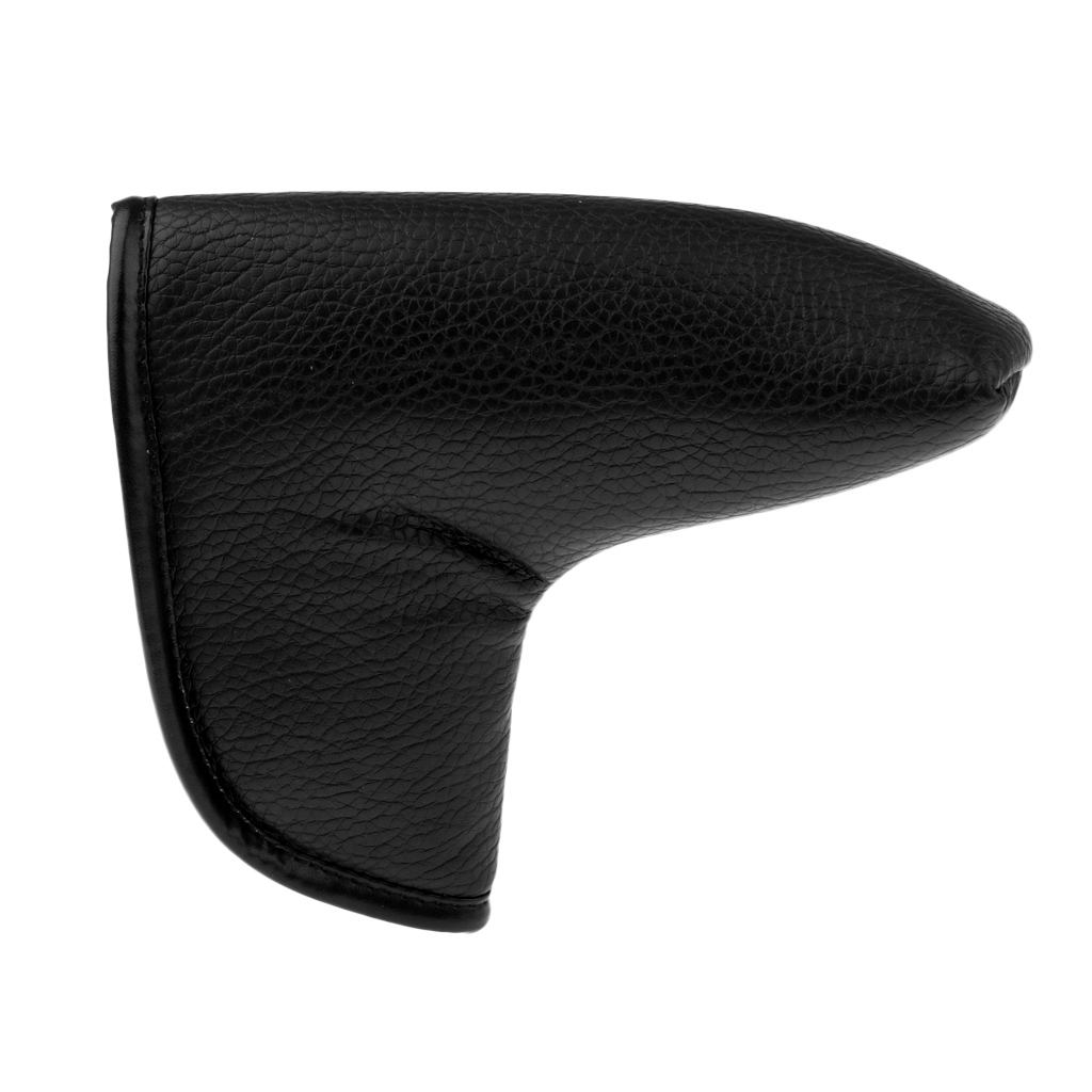 18 X15 X8cm PU Leather Golf Putter Head Cover Headcover Protector Can Be Clubs Gifts Prizes Giveaways