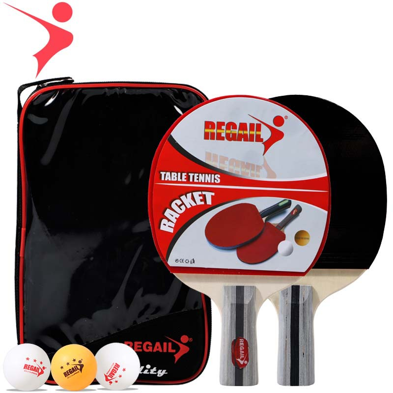Ray Gal Genuine Product Ping Pong Shot 8020 Training Ping Pong Shot Practice Racket Suite Ping Pong Wholesale