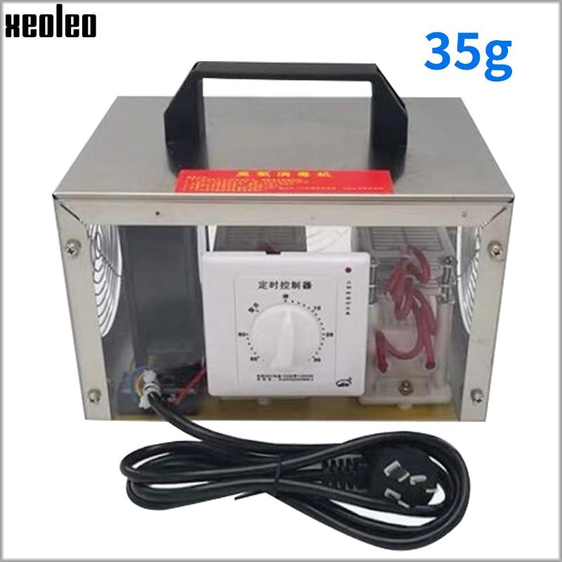 Xeoleo 35 gr/std Mobile Ozon generator Hause Luft reiniger Ozon desinfektion maschine Tragbare ozon Sterilisator mit timing Desinfizieren