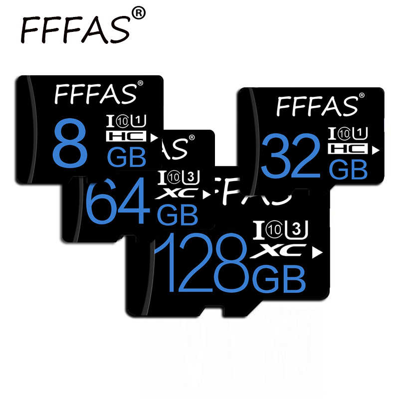 Paquete al por menor tarjeta Micro SD 8GB 16GB 32GB tarjeta de memoria SDHC alta velocidad class10 tarjeta Flash 64GB 128GB mini tarjeta sdcard para Smartphone