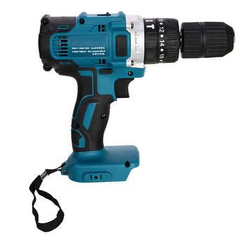 3 In 1 Electric Cordless Impact Drill 18V 13mm 2-Speed Rechargable Li-Ion Battery Electric Screwdriver Drill  For Makita Battery